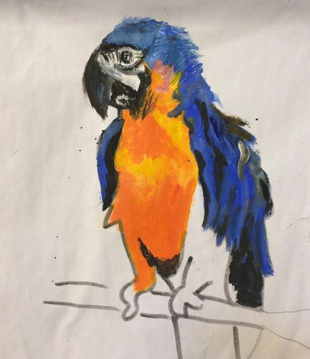 Sylvia Painting 2